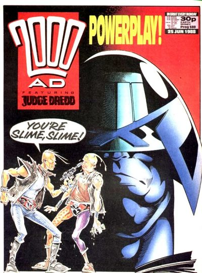 Cover for 2000 AD (1987 series) #580