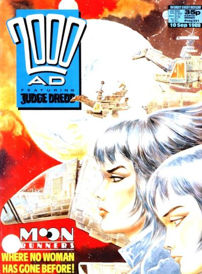 Cover for 2000 AD (Fleetway Publications, 1987 series) #591