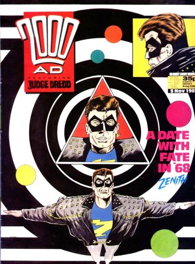 Cover for 2000 AD (Fleetway Publications, 1987 series) #599