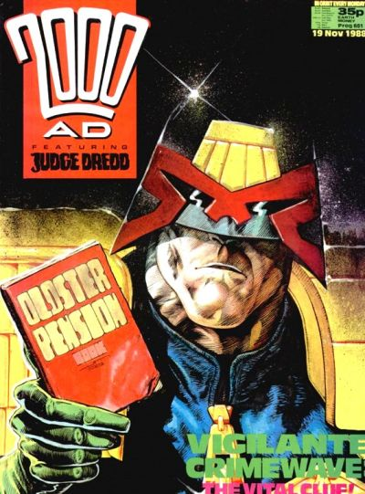 Cover for 2000 AD (Fleetway Publications, 1987 series) #601
