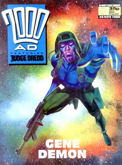 Cover for 2000 AD (Fleetway Publications, 1987 series) #602
