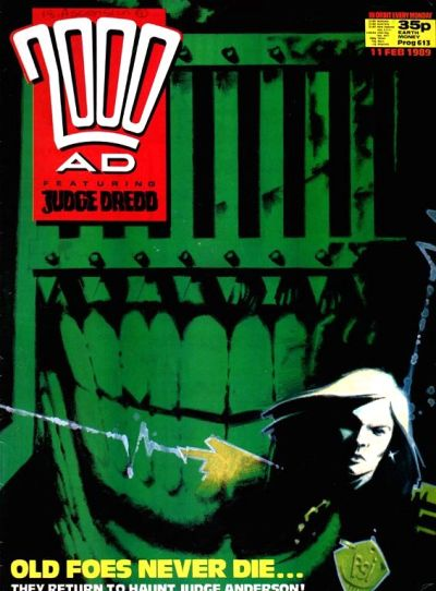 Cover for 2000 AD (Fleetway Publications, 1987 series) #613