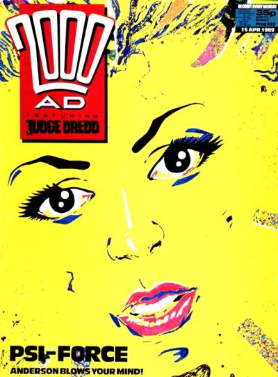 Cover for 2000 AD (Fleetway Publications, 1987 series) #622