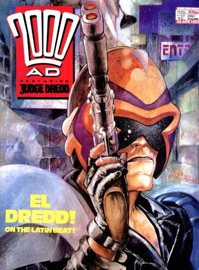Cover for 2000 AD (Fleetway Publications, 1987 series) #623