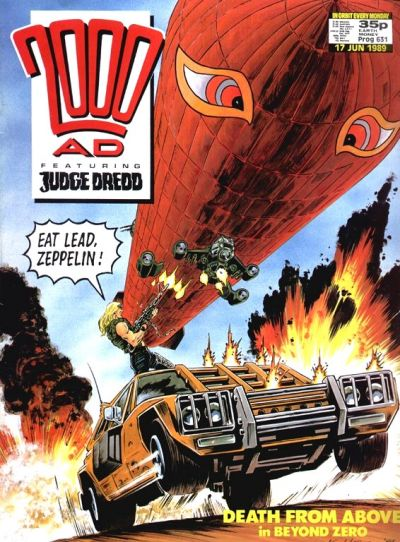 Cover for 2000 AD (Fleetway Publications, 1987 series) #631