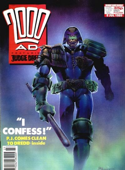 Cover for 2000 AD (1987 series) #634