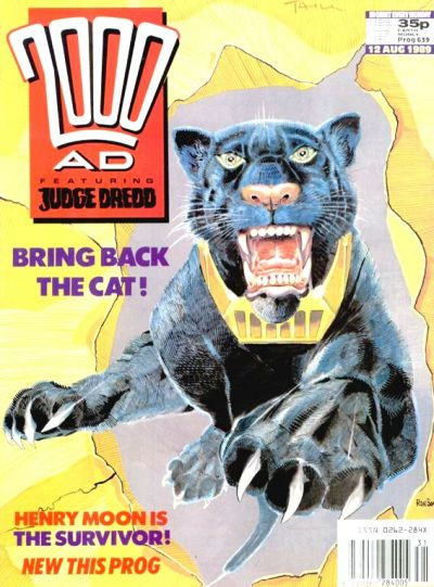 Cover for 2000 AD (Fleetway Publications, 1987 series) #639