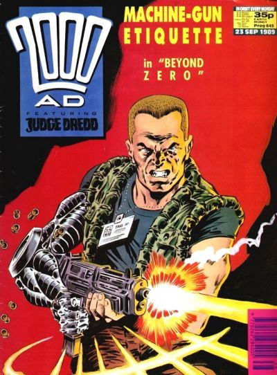 Cover for 2000 AD (Fleetway Publications, 1987 series) #645
