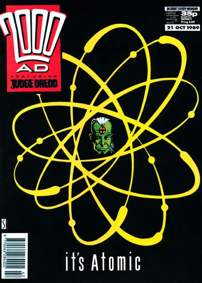 Cover for 2000 AD (Fleetway Publications, 1987 series) #649