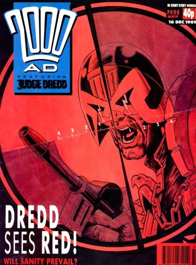 Cover for 2000 AD (Fleetway Publications, 1987 series) #657