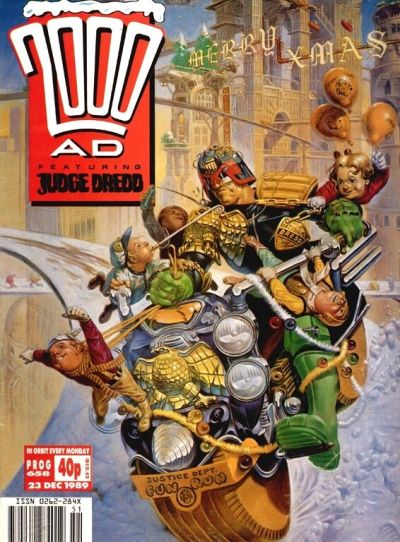 Cover for 2000 AD (Fleetway Publications, 1987 series) #658