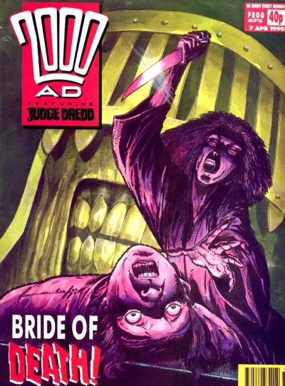 Cover for 2000 AD (Fleetway Publications, 1987 series) #673