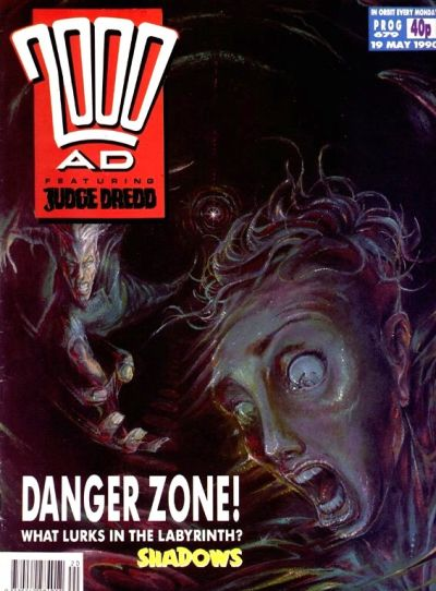 Cover for 2000 AD (Fleetway Publications, 1987 series) #679
