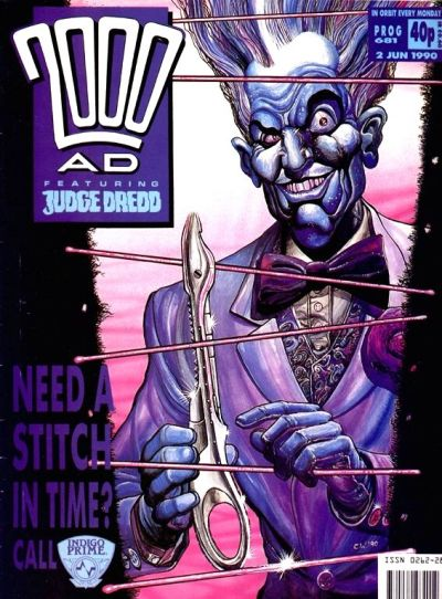 Cover for 2000 AD (Fleetway Publications, 1987 series) #681