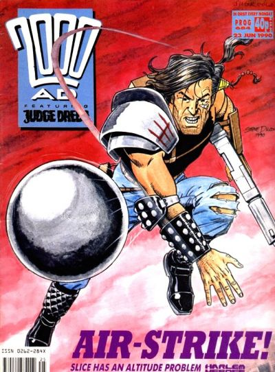 Cover for 2000 AD (Fleetway Publications, 1987 series) #684
