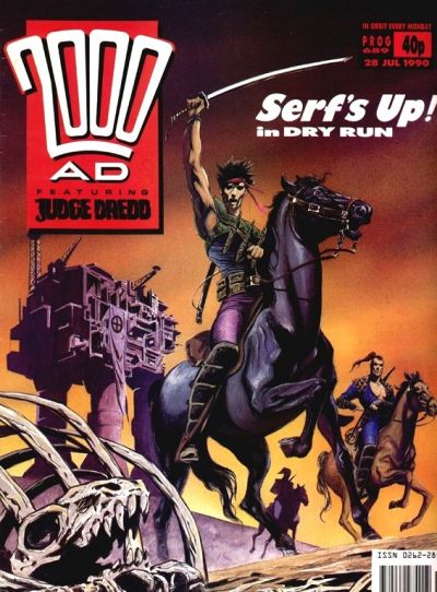 Cover for 2000 AD (Fleetway Publications, 1987 series) #689