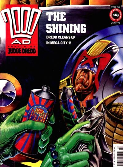 Cover for 2000 AD (Fleetway Publications, 1987 series) #706