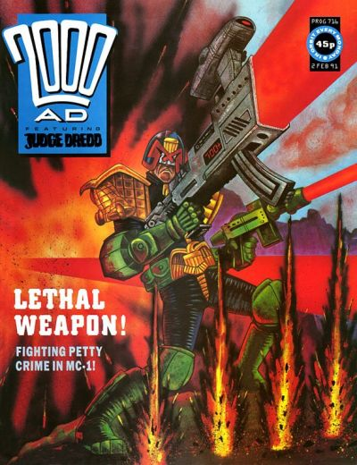 Cover for 2000 AD (Fleetway Publications, 1987 series) #716