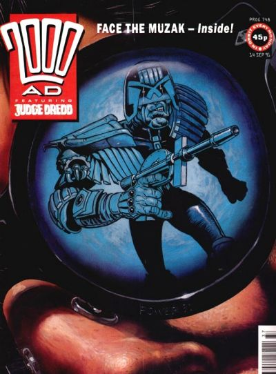 Cover for 2000 AD (Fleetway Publications, 1987 series) #748