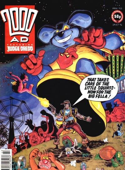 Cover for 2000 AD (Fleetway Publications, 1987 series) #753