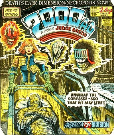 Cover for 2000 AD (1977 series) #418