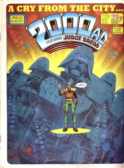 Cover for 2000 AD (1977 series) #531