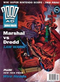Cover for 2000 AD (Fleetway Publications, 1987 series) #803