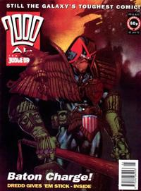 Cover Thumbnail for 2000 AD (Fleetway Publications, 1987 series) #820