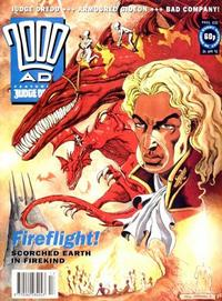 Cover Thumbnail for 2000 AD (Fleetway Publications, 1987 series) #832