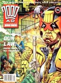 Cover Thumbnail for 2000 AD (Fleetway Publications, 1987 series) #835