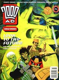 Cover for 2000 AD (Fleetway Publications, 1987 series) #852