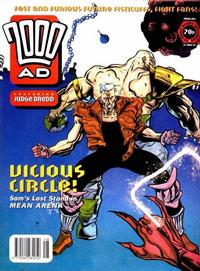 Cover for 2000 AD (1987 series) #863