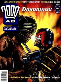 Cover for 2000 AD (Fleetway Publications, 1987 series) #870