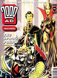 Cover for 2000 AD (Fleetway Publications, 1987 series) #885
