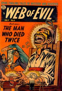 Cover Thumbnail for Web of Evil (Quality Comics, 1952 series) #5