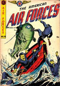 Cover Thumbnail for The American Air Forces (Magazine Enterprises, 1951 series) #10 [A-1 #74]