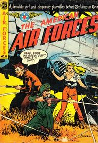 Cover Thumbnail for The American Air Forces (Magazine Enterprises, 1951 series) #11 [A-1 #79]