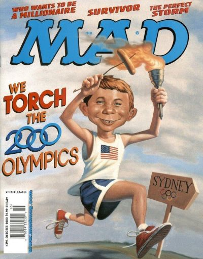 Cover for MAD (EC, 1952 series) #398
