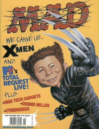 Cover for MAD (EC, 1952 series) #399