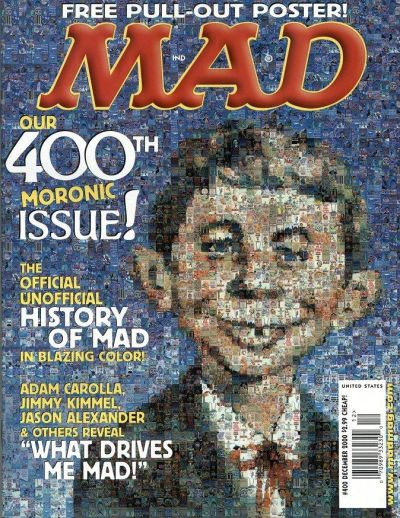 Cover for MAD (EC, 1952 series) #400