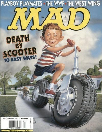 Cover for Mad (1952 series) #402