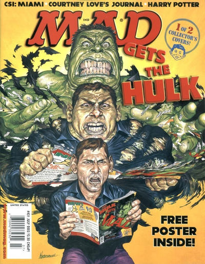 Cover for MAD (EC, 1952 series) #431