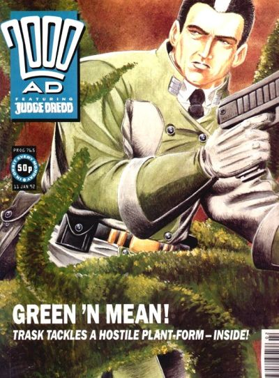 Cover for 2000 AD (Fleetway Publications, 1987 series) #765