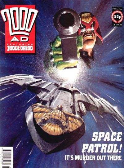 Cover for 2000 AD (Fleetway Publications, 1987 series) #766