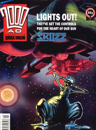 Cover for 2000 AD (Fleetway Publications, 1987 series) #773