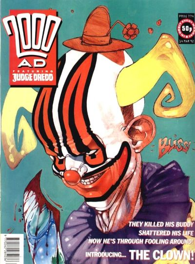 Cover for 2000 AD (Fleetway Publications, 1987 series) #774