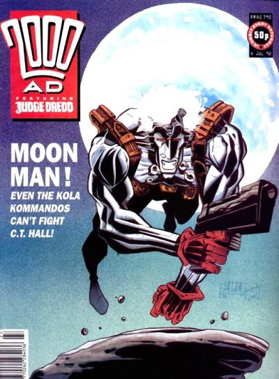Cover for 2000 AD (Fleetway Publications, 1987 series) #790