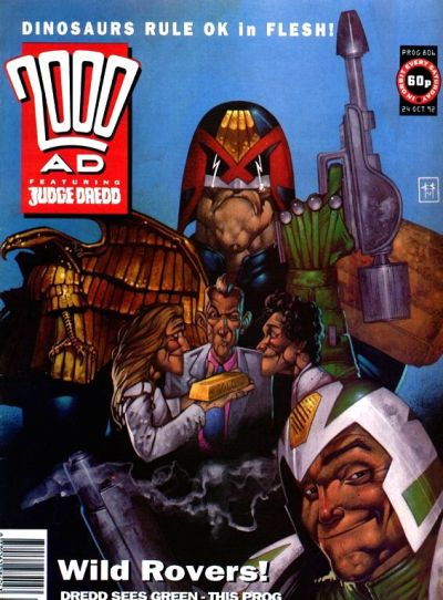Cover for 2000 AD (Fleetway Publications, 1987 series) #806