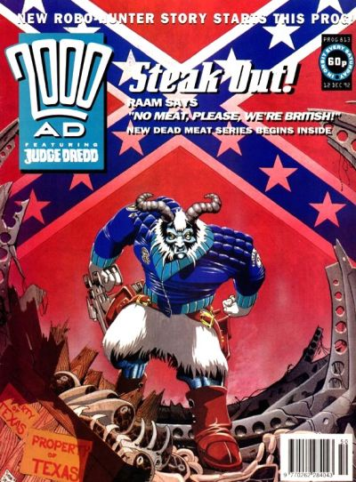 Cover for 2000 AD (1987 series) #813