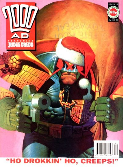 Cover for 2000 AD (1987 series) #815